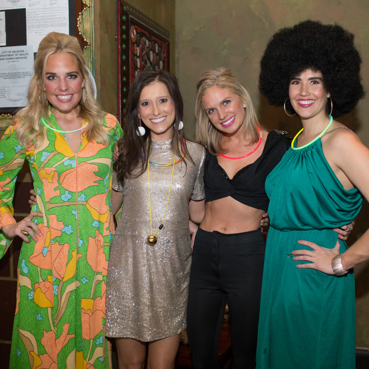 TIRR Foundation gala, Feb. 2016, Helen Hemingway, Alixe Ryan, Kimberly Niehaus, Catherine Bradley