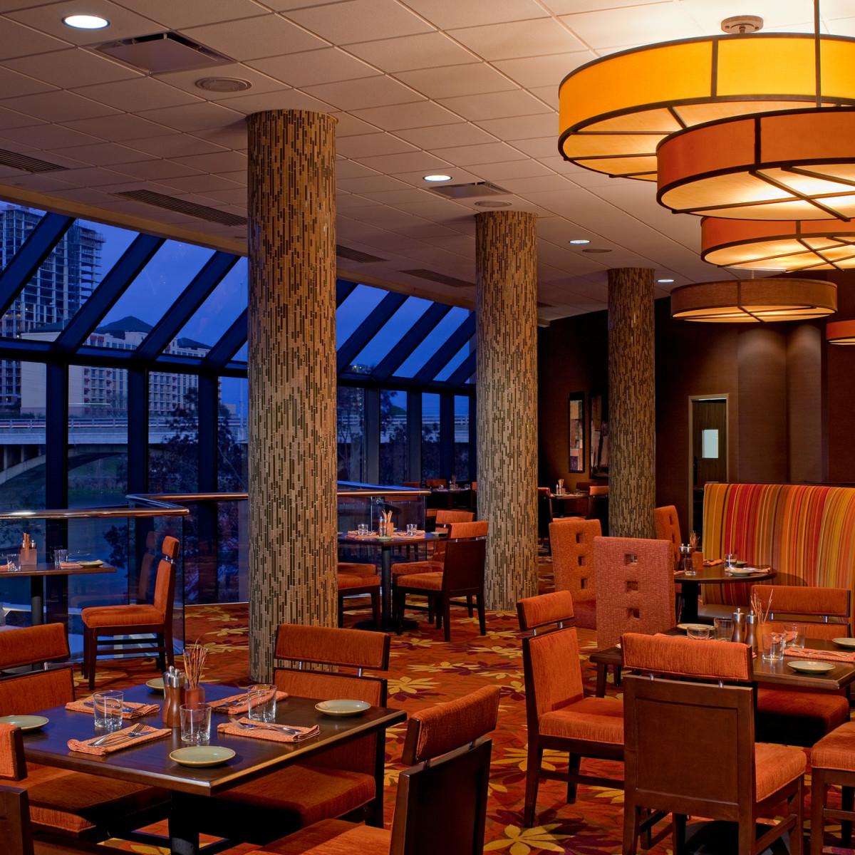 Hyatt Regency Austin downtown hotel bar patio Southwest Bistro