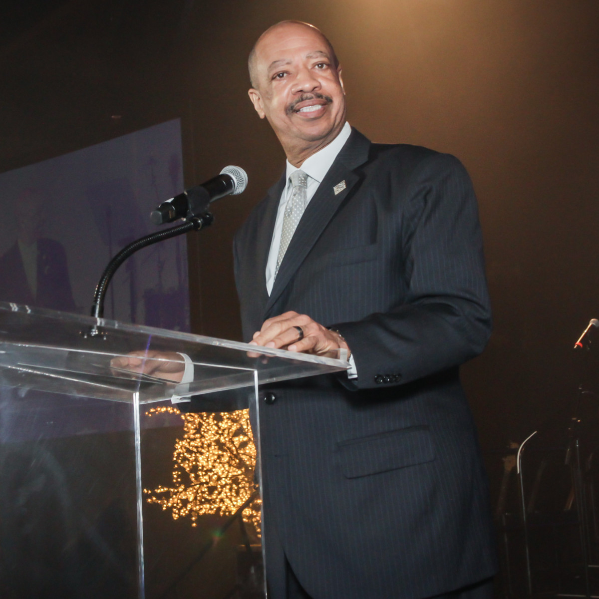 CAMAC 30th anny gala, Jan. 2016, TSU president John M. Rudley