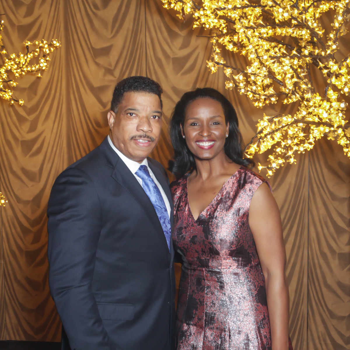 CAMAC 30th anny gala, Jan. 2016, Doug Herron, Winell Herron