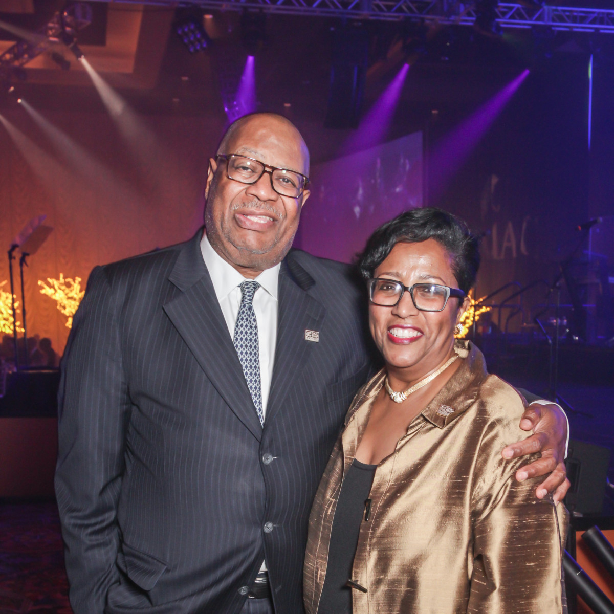 CAMAC 30th anny gala, Jan. 2016, Jodie Jiles, Sonny Messiah Jiles