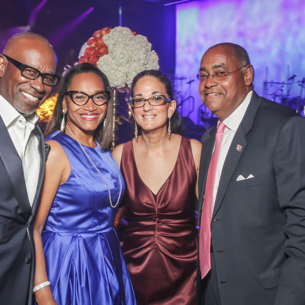 CAMAC 30th anny gala, Jan. 2016, Gerald Smith, Anita Smith, Licia Green Ellis, State Sen. Rodney Ellis