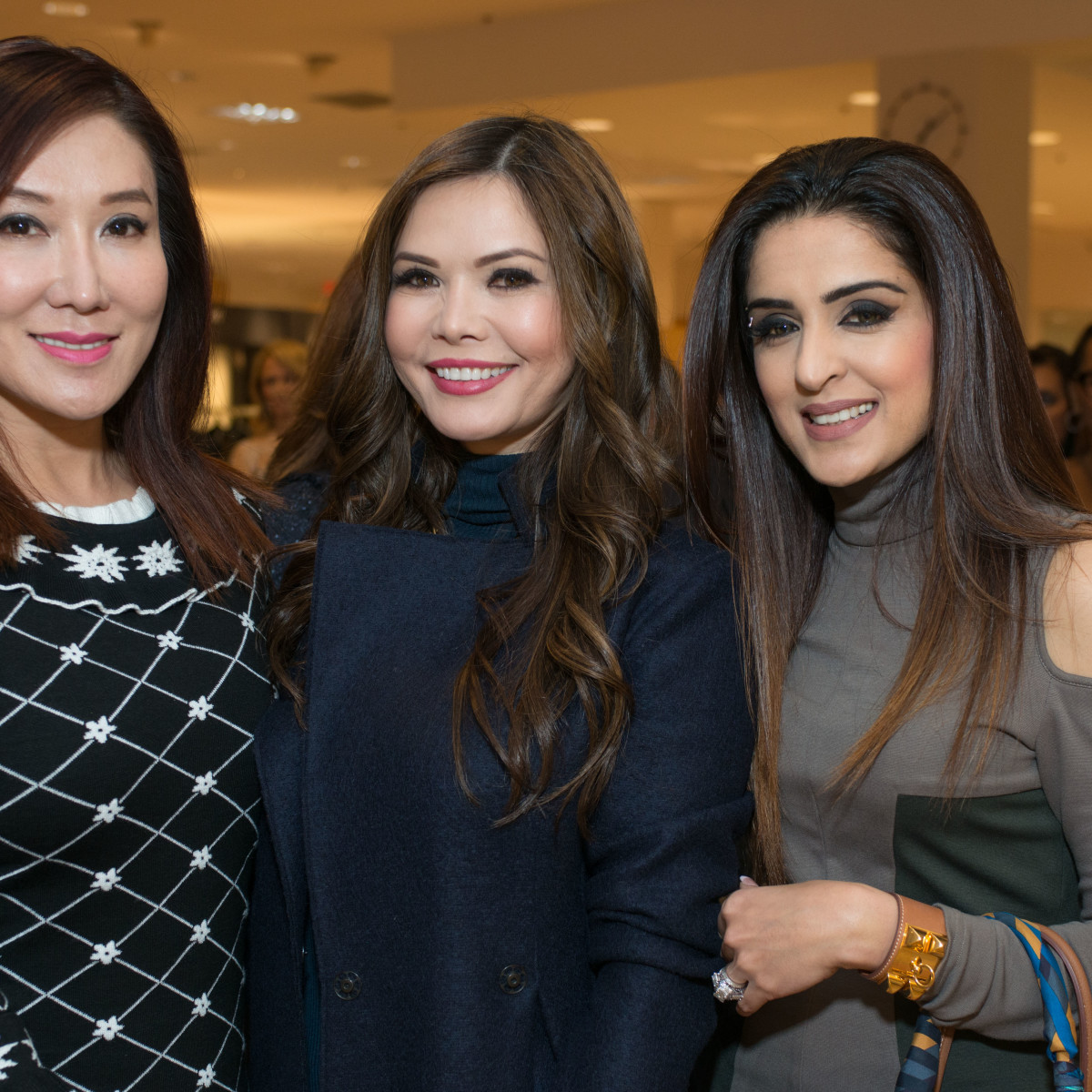 Best Dressed, Jan. 2016,  Mandy Kao, Amy Dichoso, Sneha Merchant