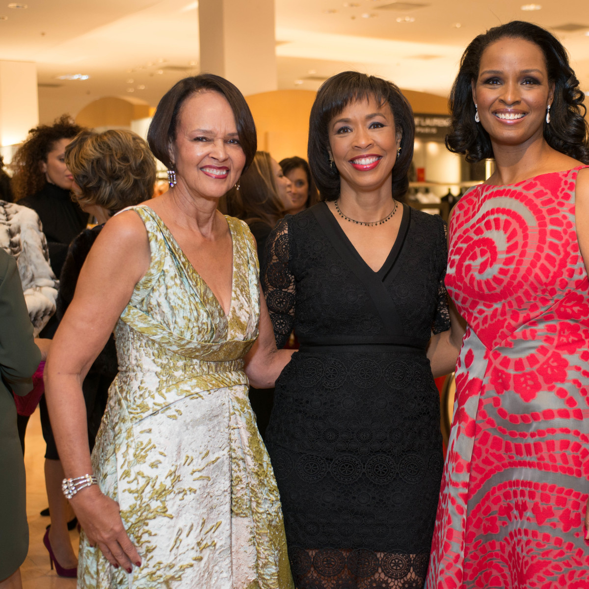 Best Dressed, Jan. 2016,  Gayla Gardner, Gina Gaston, Winnell Herron