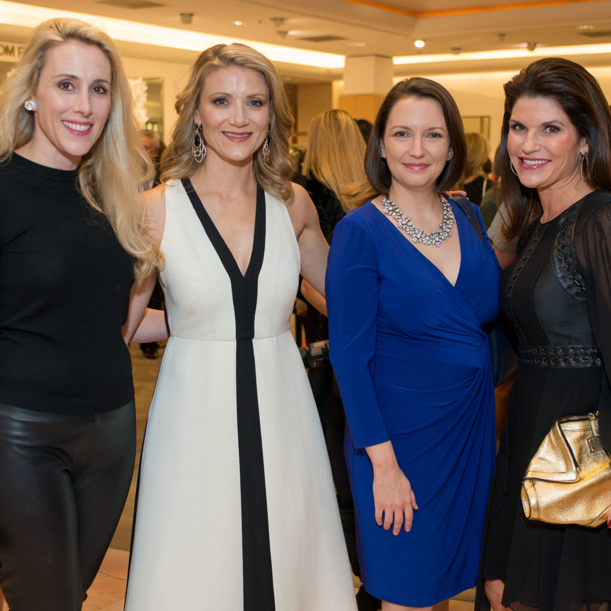Best Dressed, Jan. 2016, Christie Sullivan, Stephanie Cockrell, Darcie Champagne Wells, Laura Davenport