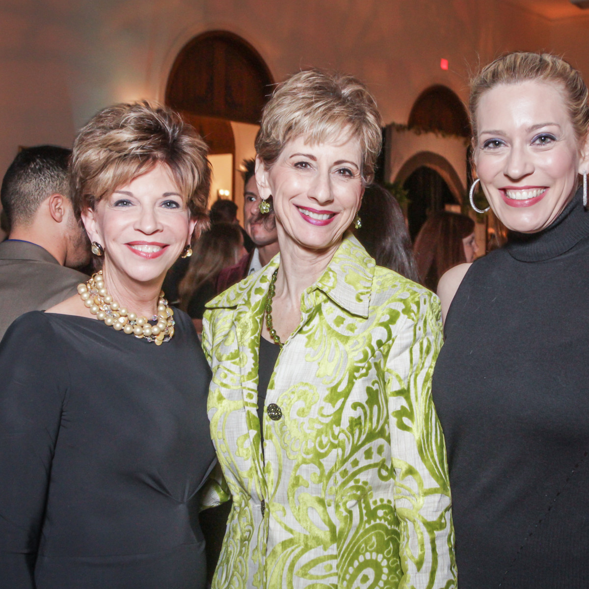 Houston, Social Book 2016 Launch Party, January 2016, Vicki Rizzo, Linda Kuykendall, Mauri Oliver