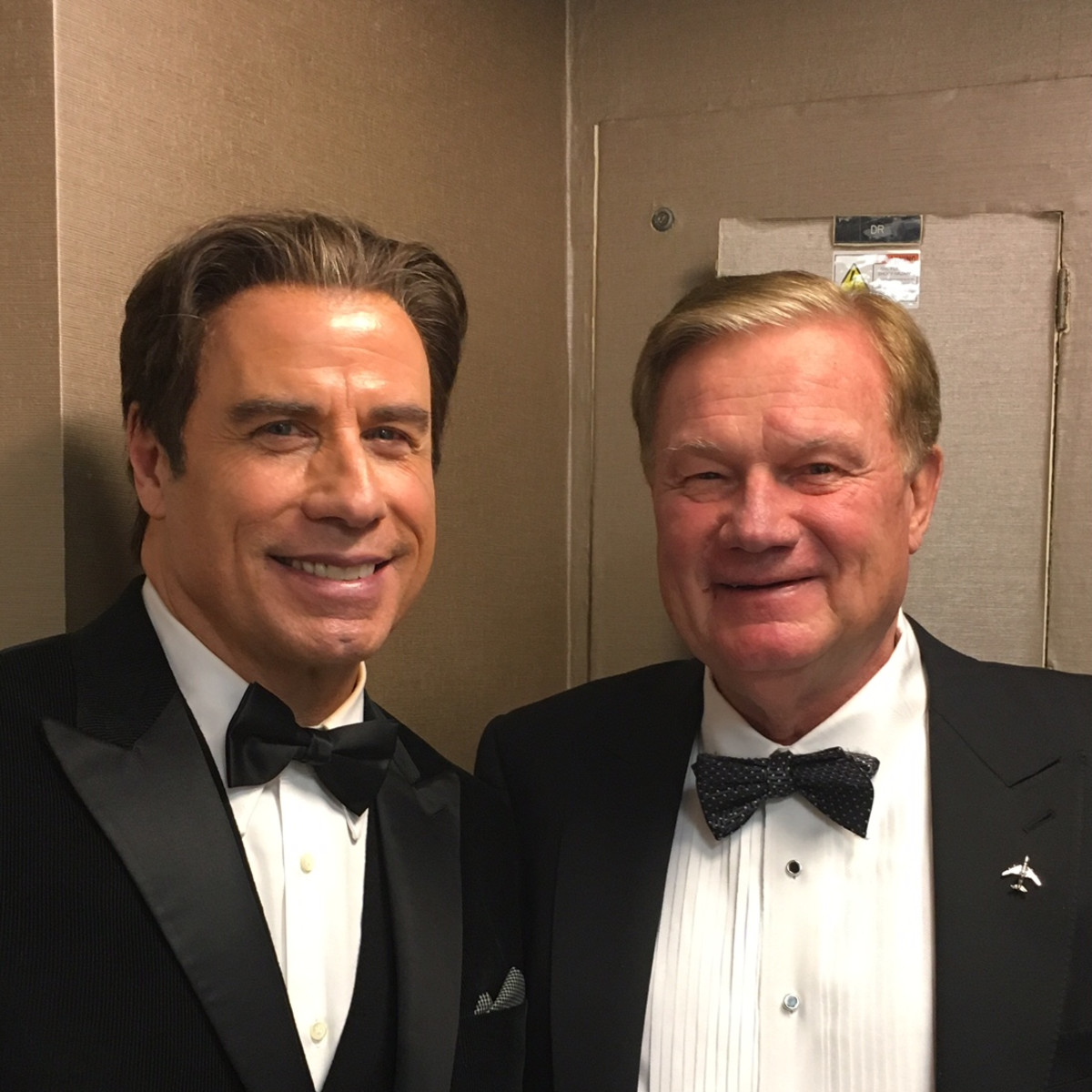 Living Legends of Aviation, Jan. 2016, John Travolta, Keith Mosing