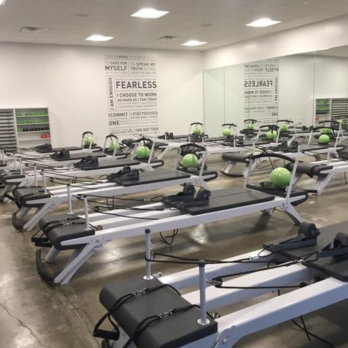 Kor180 Austin workout studio room