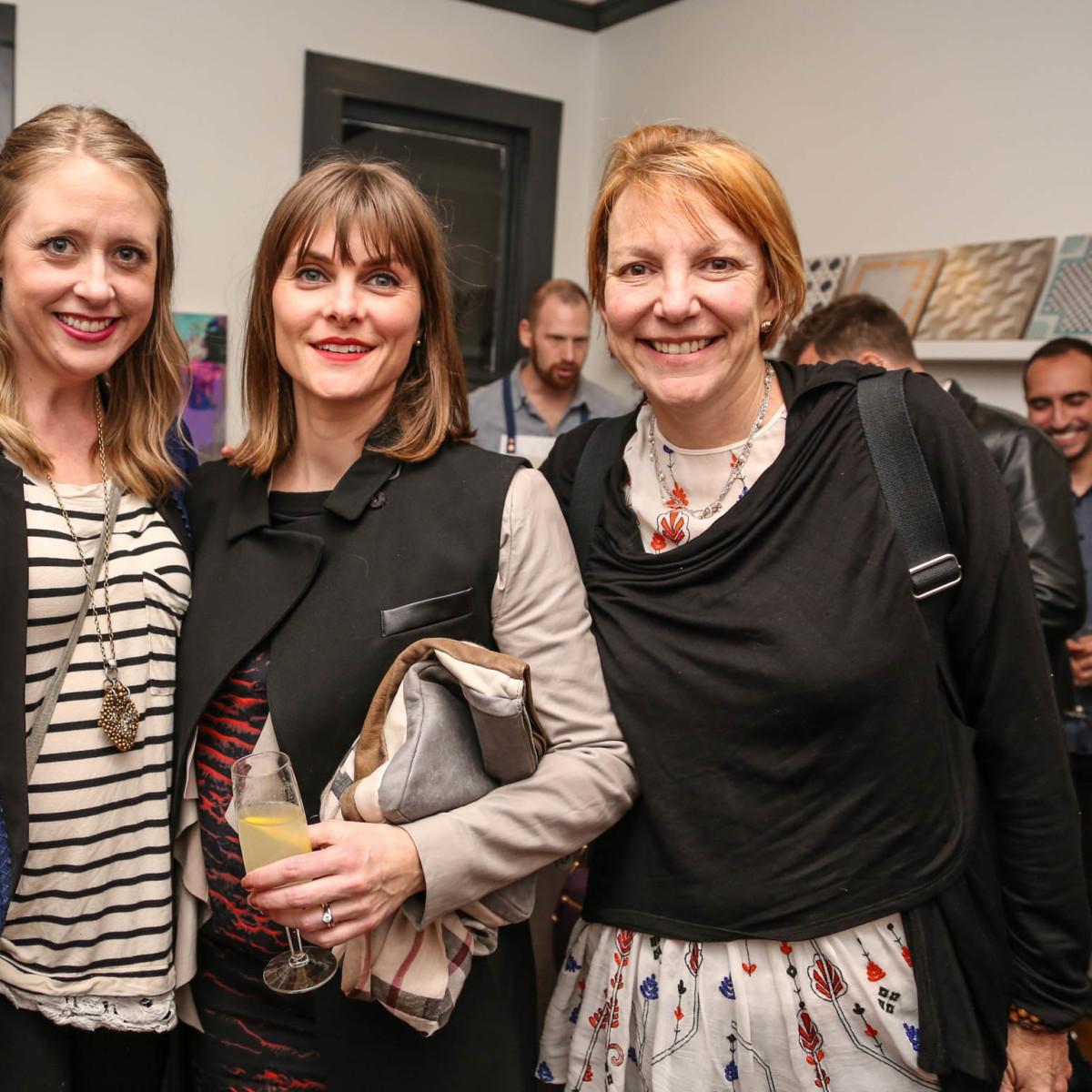 TRIBEZA Interiors Tour 2016 Kickoff at SUPPLY Showroom Kirsten Bymark Lieve Saether Erin Adams