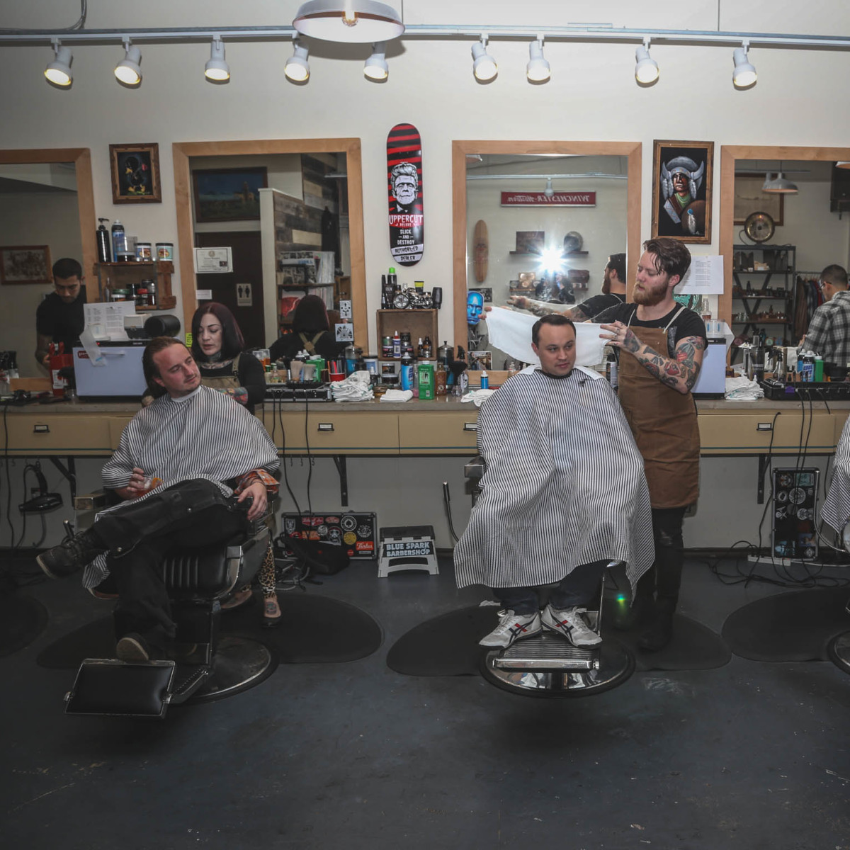 SHED Barbershop Industry Night CultureMap Austin