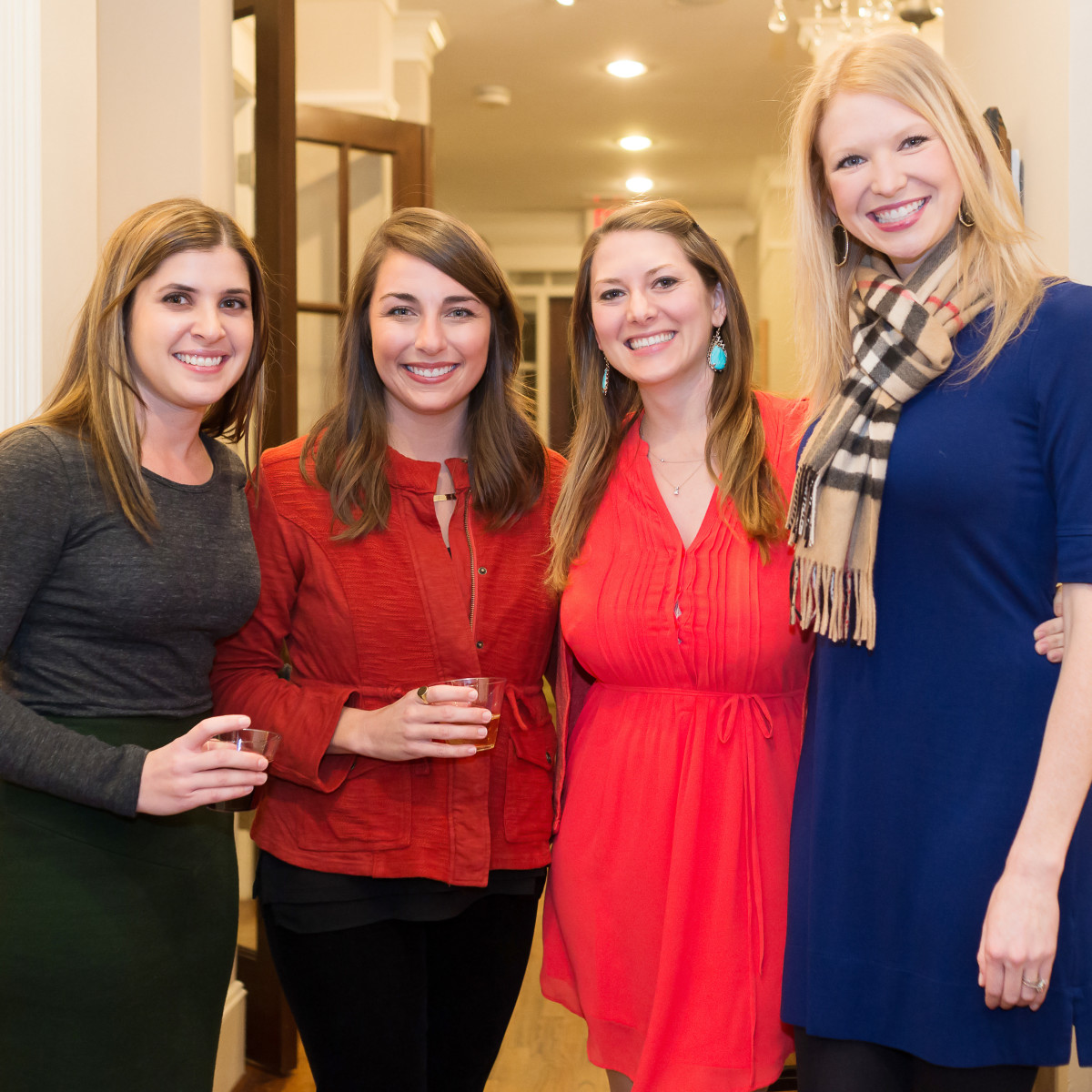 Opera in the Heights, Jan. 2016, Bravissimo_Elizabeth Yarotsky, Carli Baker, Natalie Murdock, Lauren Bryan