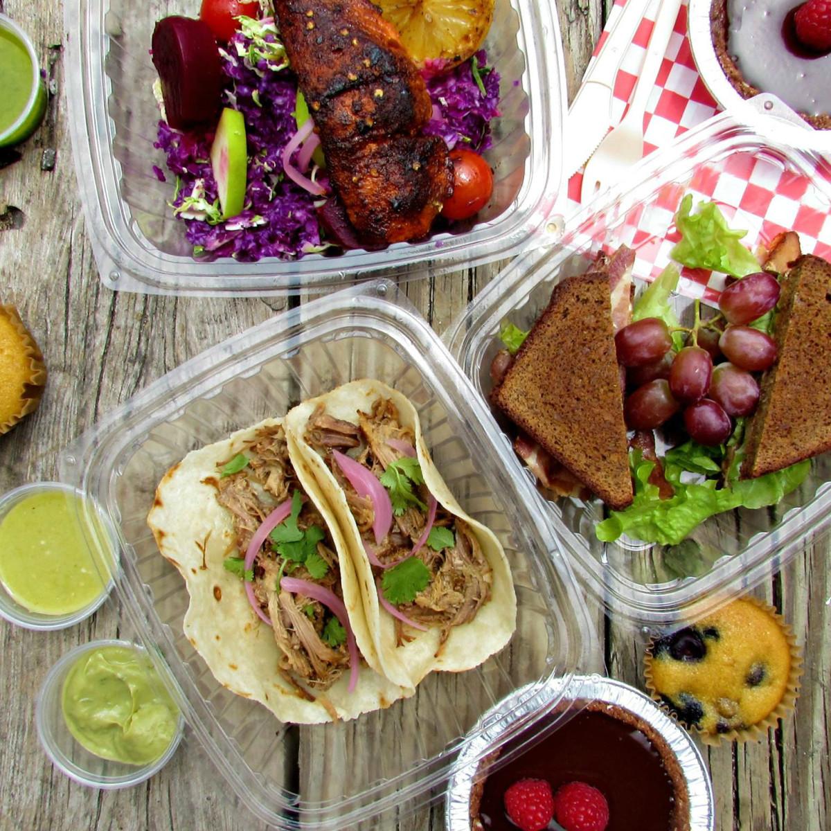 Picnik Austin food trailer paleo gluten free meals