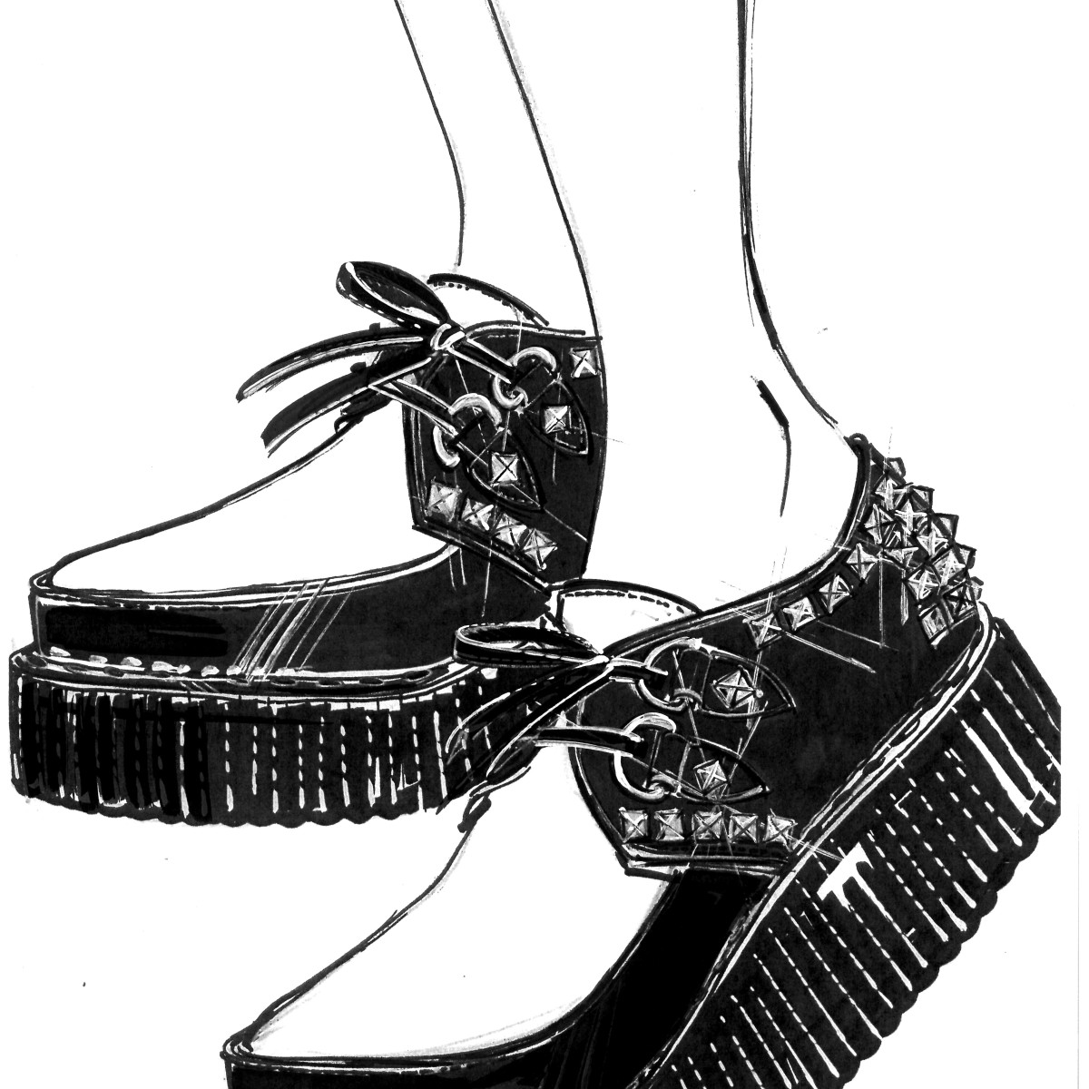 Madonna Rebel Heart Tour Miu Miu shoes