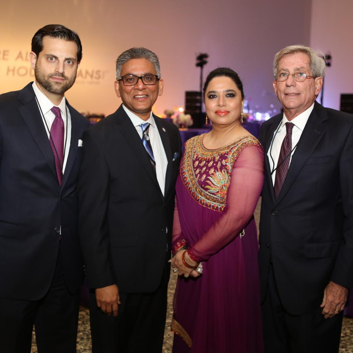 News, Mayor Sylvester Turner Inauguration, Jan. 2016, MFAH, Jonathan Zadok, Zaf Tahir, Yasmeen Tahir, Fed Zeidman