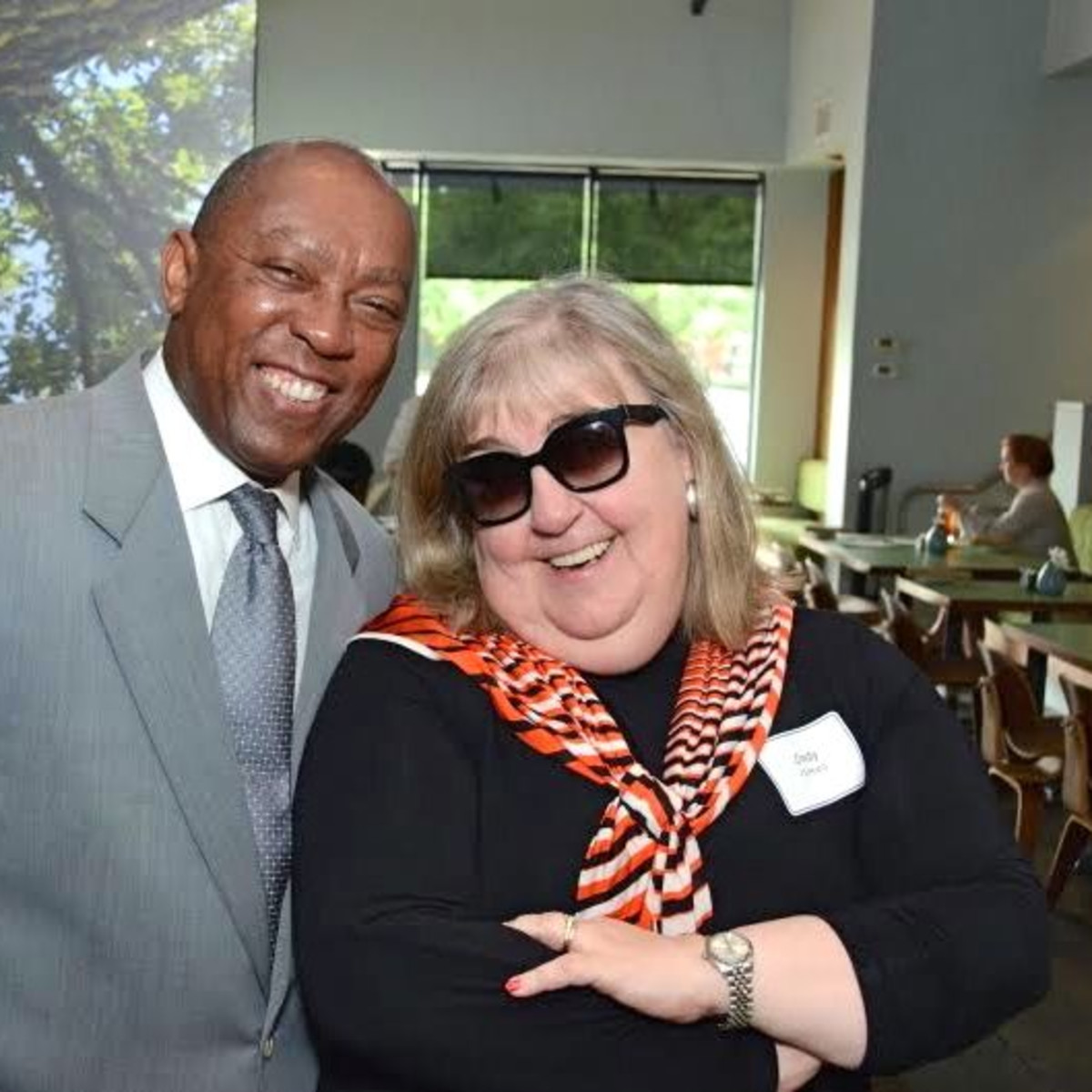 Sylvester Turner, Cindy Clifford