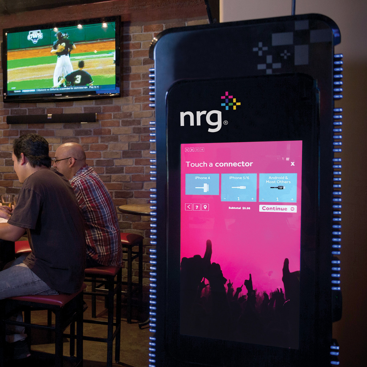 NRG Go Portable Power station at Pub Fiction