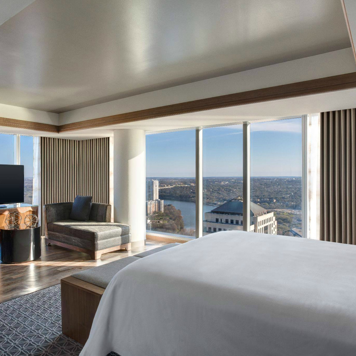 JW Marriott Austin hotel guest room interior 2015