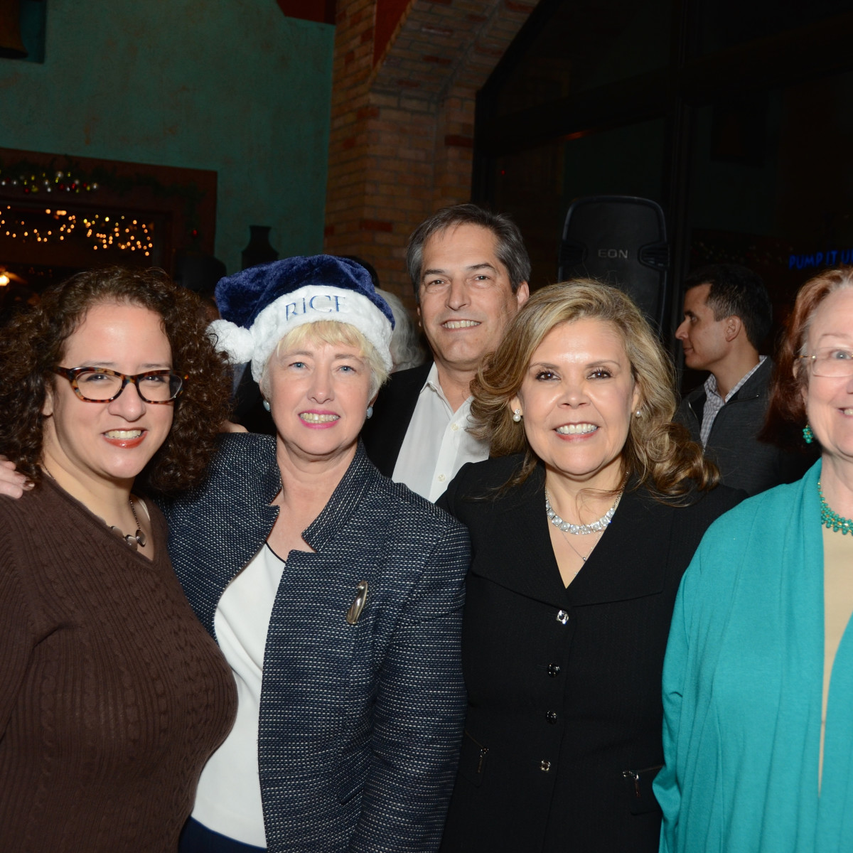 News, Mayor's Hispanic Advisory Board party, Dec. 2015,