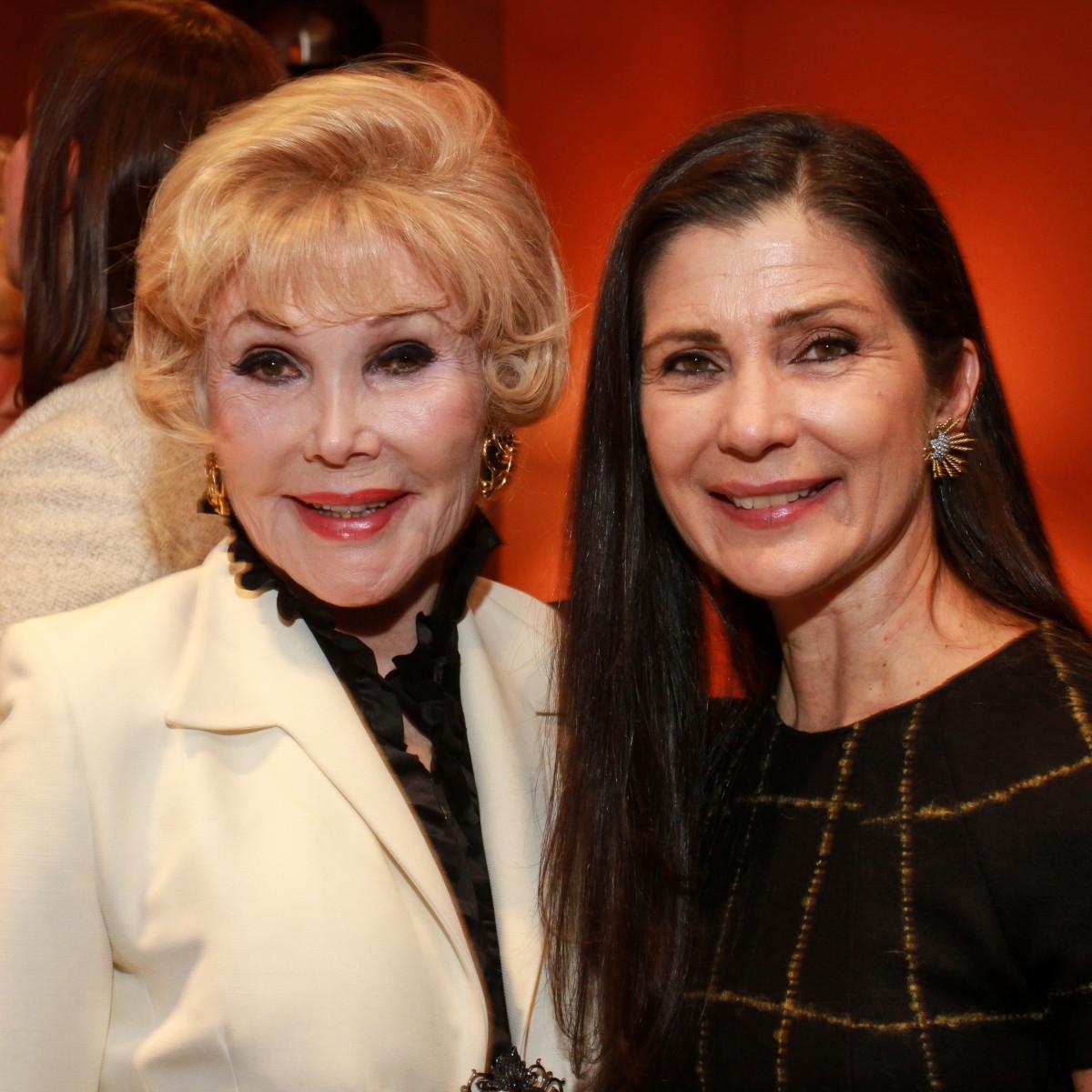 News, HGO Tea, Dec. 2015, Joanne King Herring, Cynthia Petrello