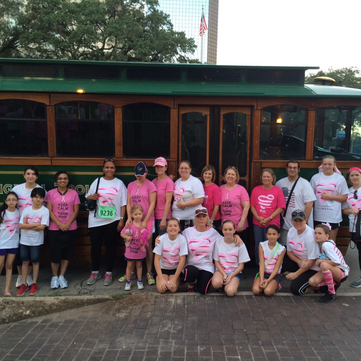 AmCap Race for the Cure participants