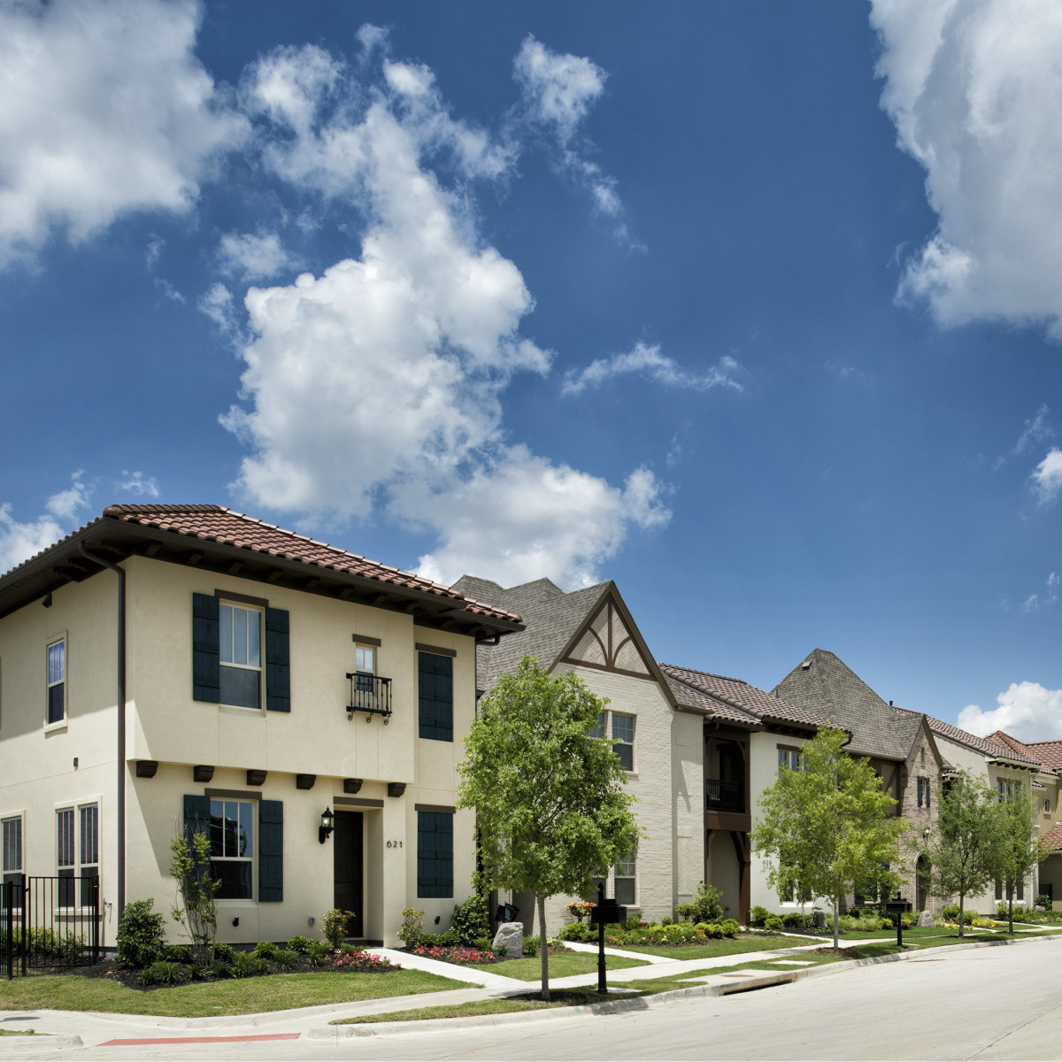 Vue residential community in Las Colinas
