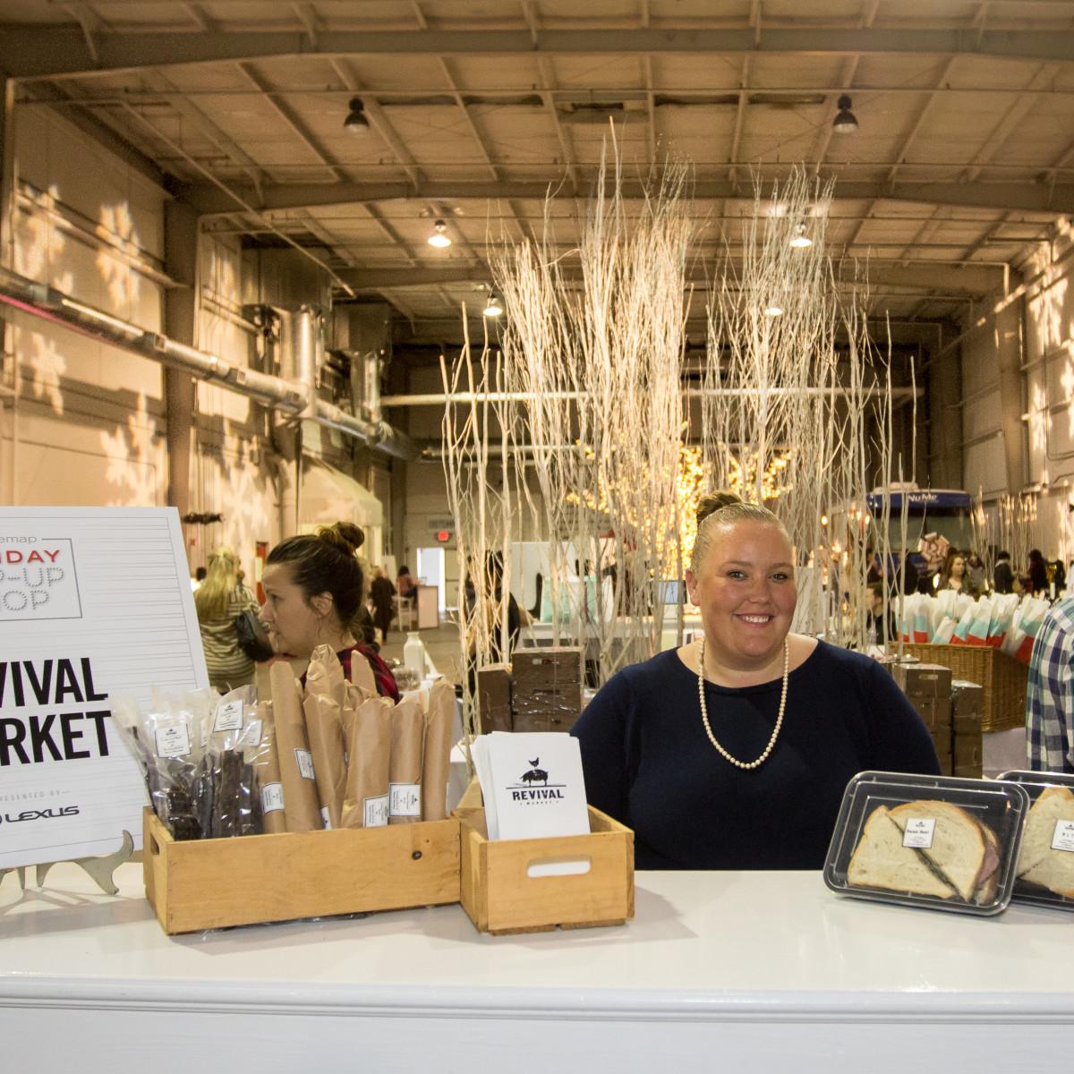 News, CM Holiday Pop-Up Shop, Dec. 2015, Revival Market