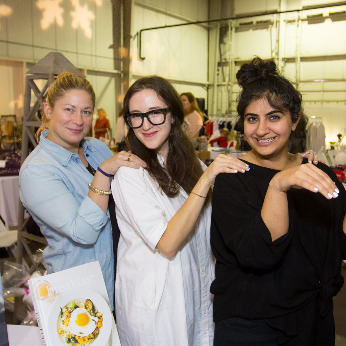 News, CM Holiday Pop-Up Shop, Dec. 2015, Julie Cushman, Cecilia Marquez, Sanaa Sahi
