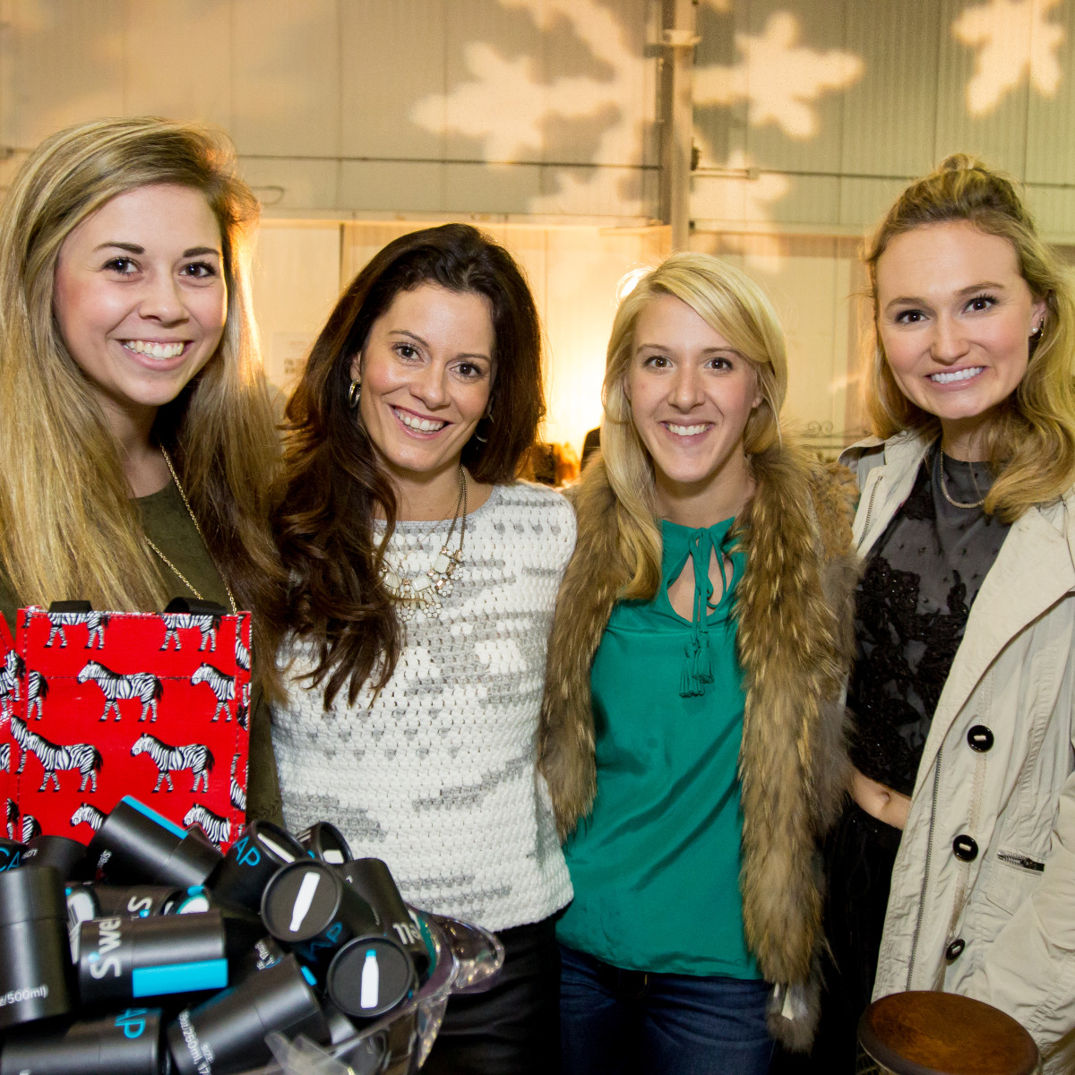 News, CM Holiday Pop-Up Shop, Dec. 2015, Makenzie Rogers, Katie Scroggins (owner of Monkee's), Katie Corts, Westleigh Cutts