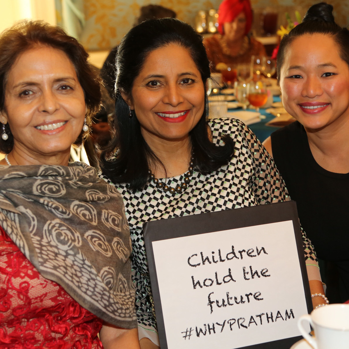Pratham Holiday Party Manjit Soni, Vineeta Salvi, Sydney Dao