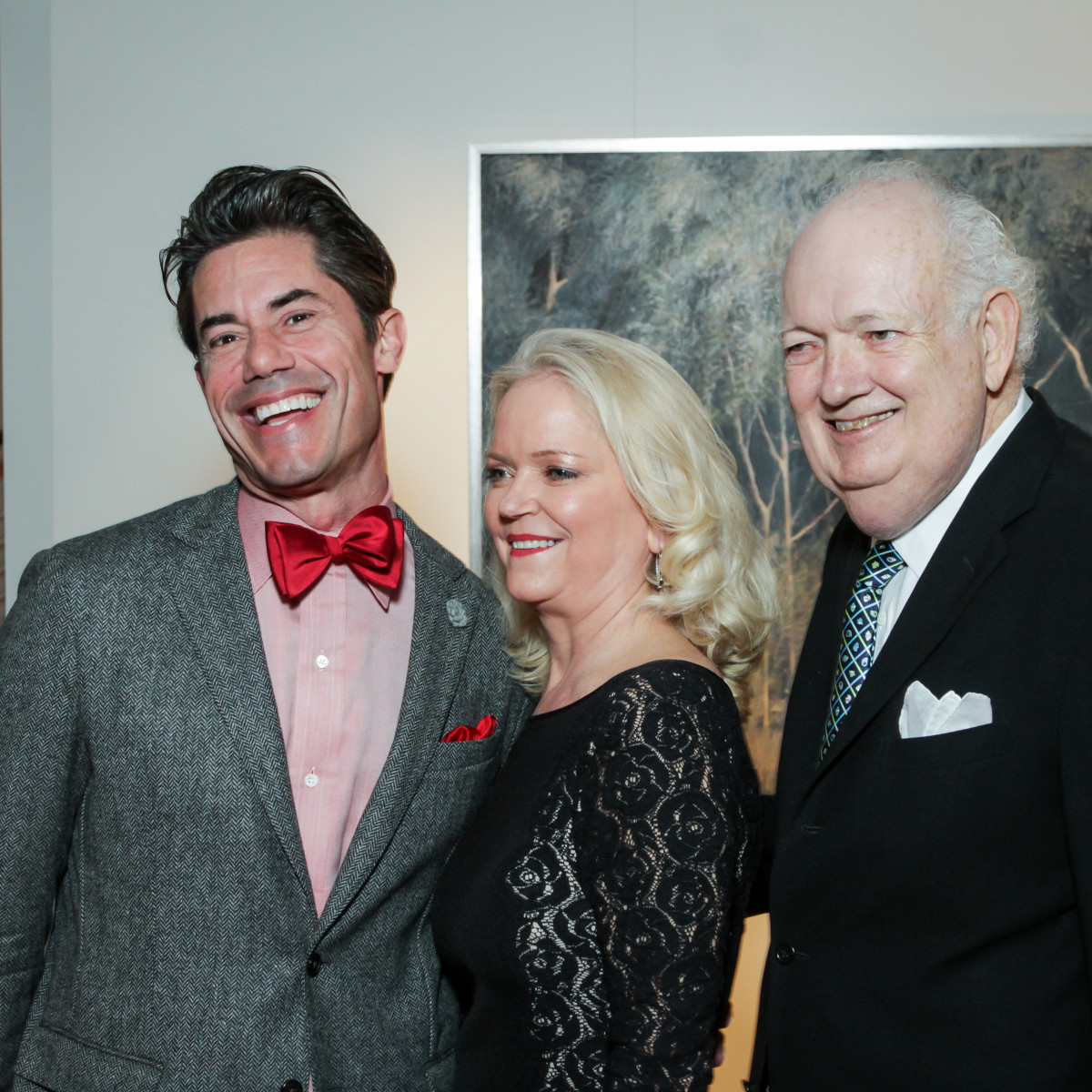 News, Legacy Holiday Schmooze, Dec. 2015, Milton Townsend, Chree Boydston, Jackson Hicks