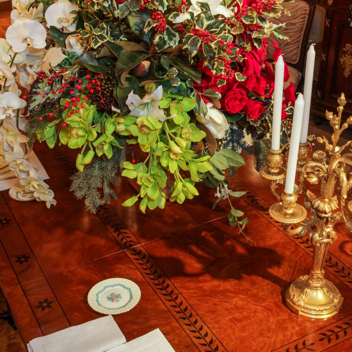 News, Houston Design Center, Deck the Tables, Dec. 2015 Charlotte Nail Antiques