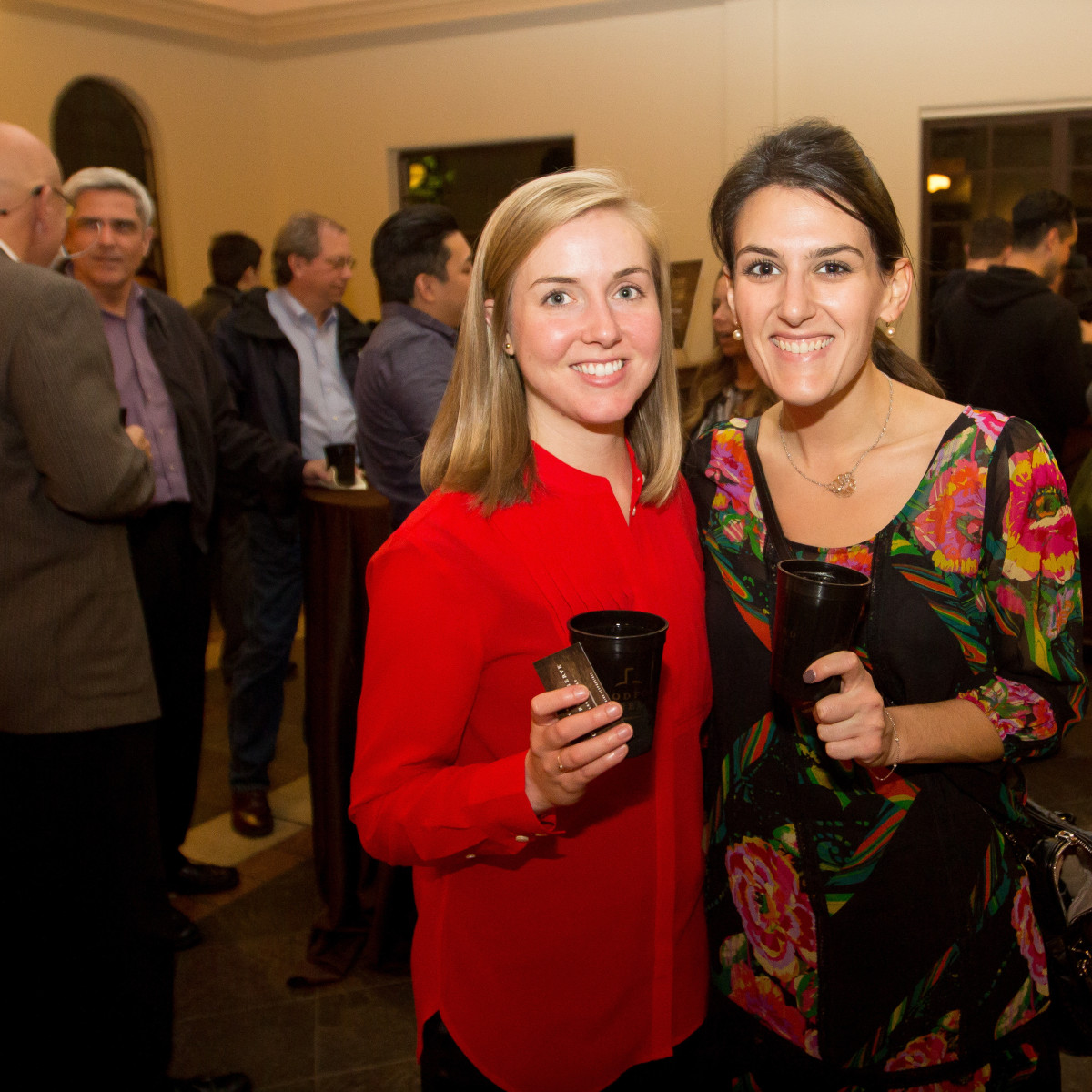 Woodford Reserve event Houston Courtney Giles, Ashley Ellerin