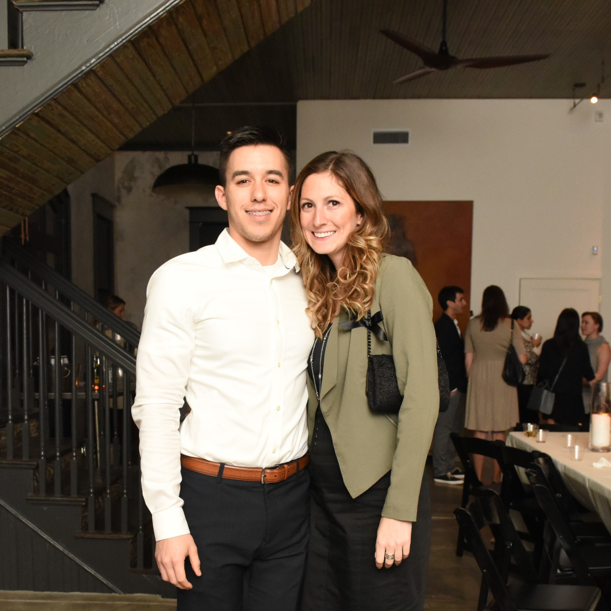 News, Pier & Beam party, Dec. 2015, Josh Salas, Whitney Gealy