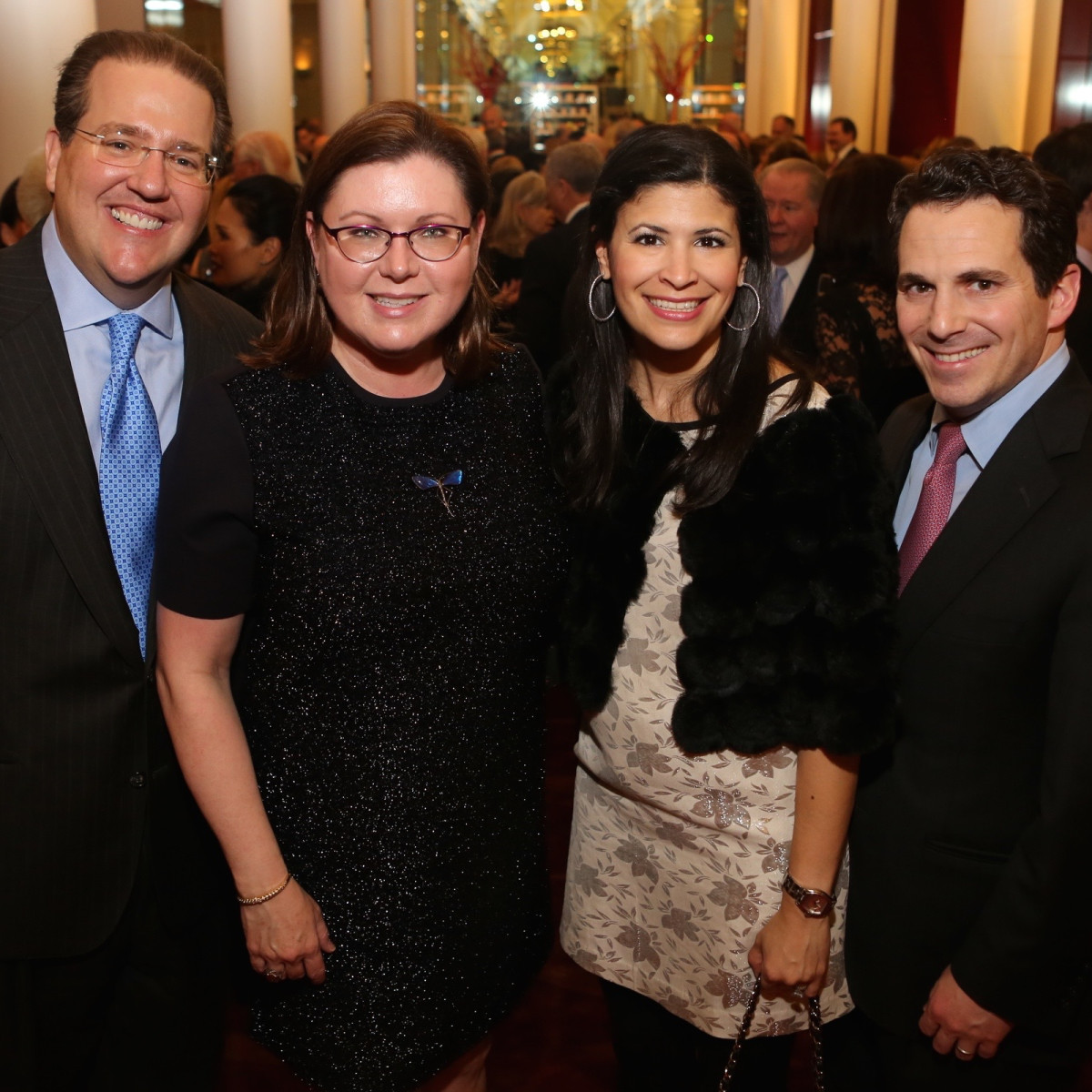 News, Houston Ballet Jubilee of Dance, Dec. 2015,  Jim Jordan Shawn Stephens, Kristi Bradshaw, Chris Bradshaw
