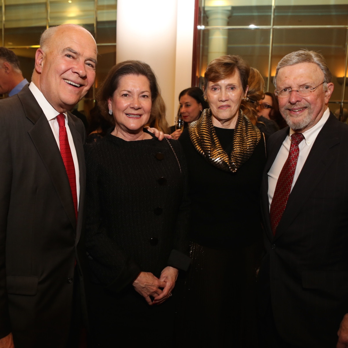 News, Houston Ballet Jubilee of Dance, Dec. 2015, Joe Hafner, Merrill Hafner, Sharon Erskine, Donald Erskine