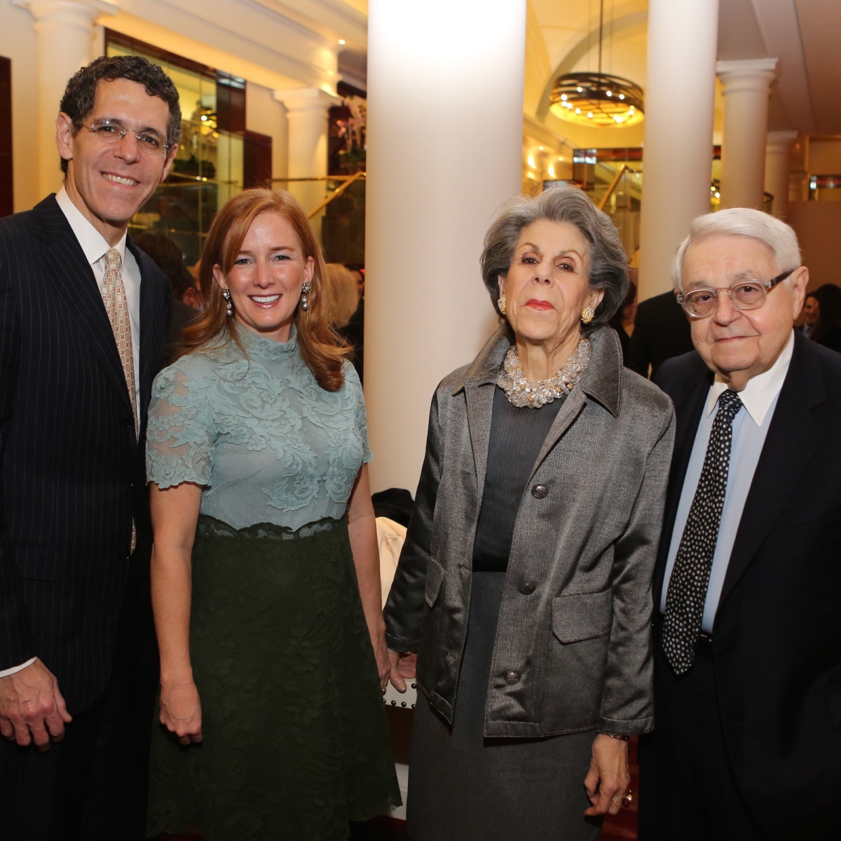 News, Houston Ballet Jubilee of Dance, Dec. 2015, Richard Lapin, Alison Thacker, Susan Lapin, Jack Lapin.