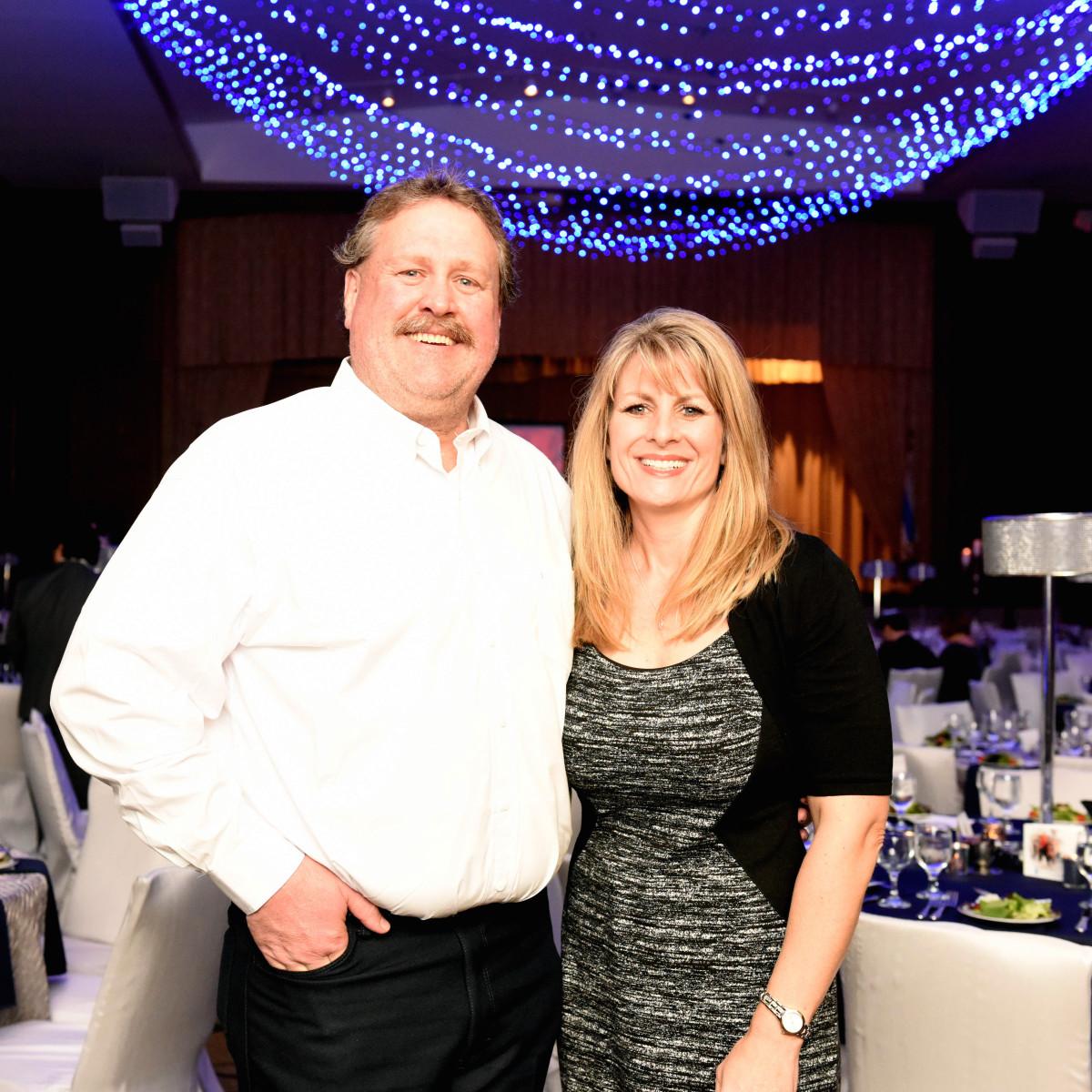 Houston, Beth Yeshurun Day School gala, December 2015, John Watt, Connie Watt