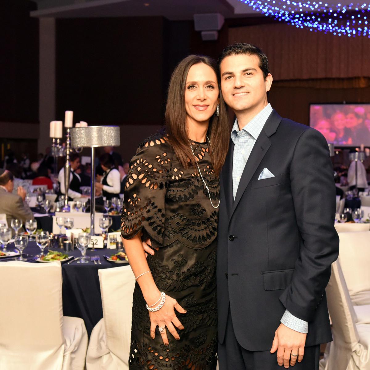 Houston, Beth Yeshurun Day School gala, December 2015, Amy and Segev Zadok