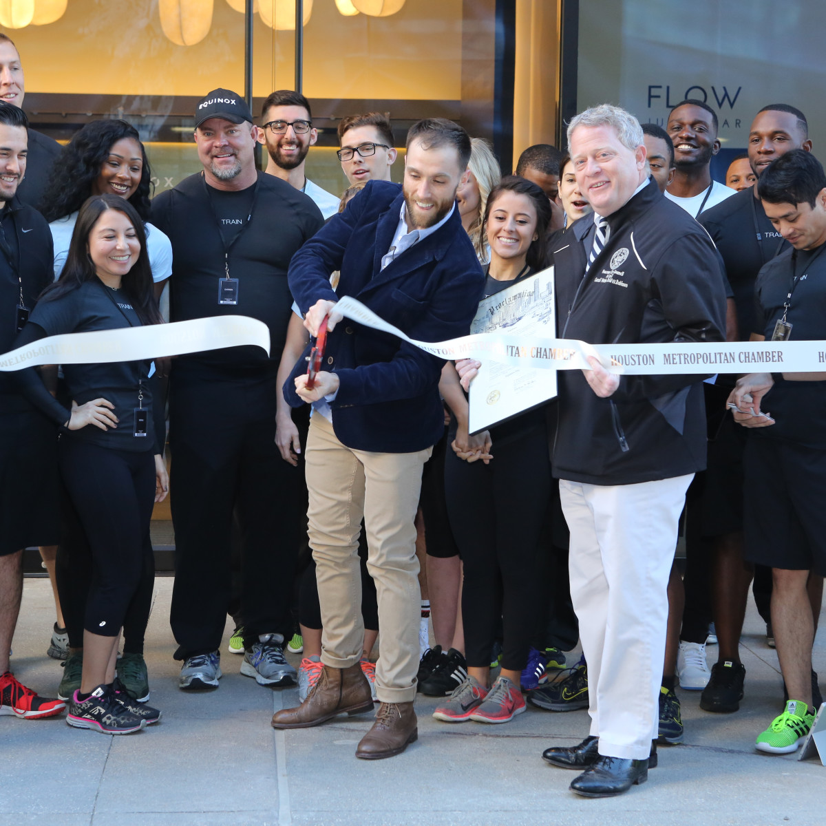 Opening of Equinox at River Oaks District