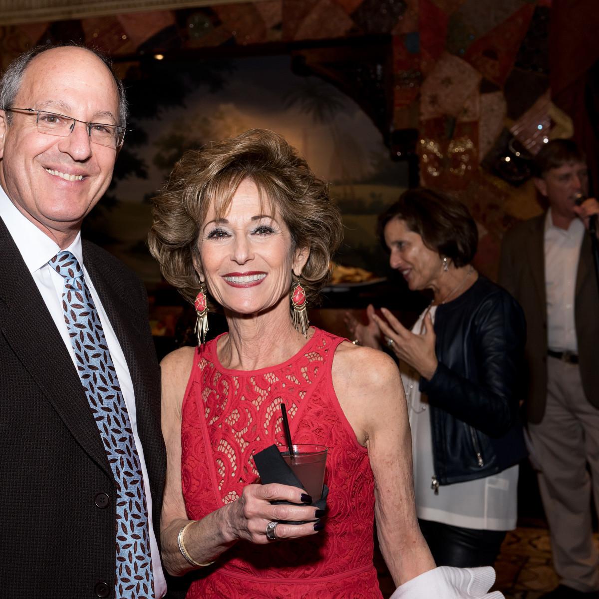 News, NCJW gala, Nov. 2015, Jay Steinfield, Karen Freedman