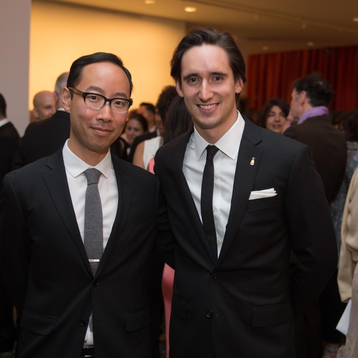 News, MFAH Latin Experience, Nov. 2015, Yuta Nakajima; Donald Johnson Montenegro;