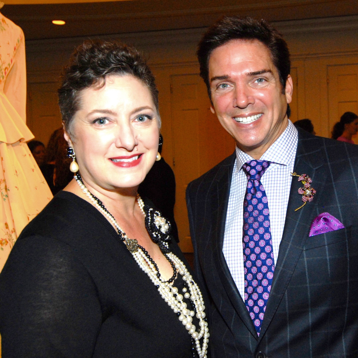 Tamara Klosz Bonar and Lenny Lenny Matuszewski at Salute to Retail Luncheon