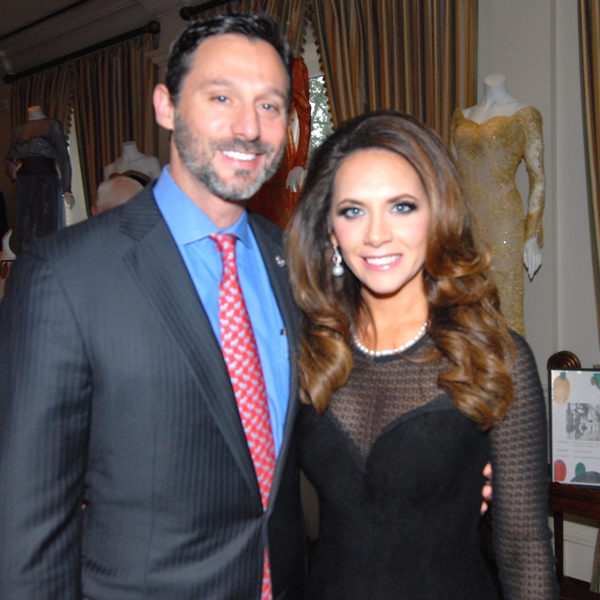 Brad and Joanna Marks at Salute to Retail Luncheon