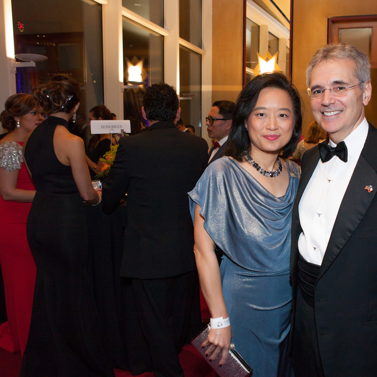 News, Shelby, Hispanic Chamber gala, Nov. 2015, Dr. Lynda Chin, Dr. Ron DePinho