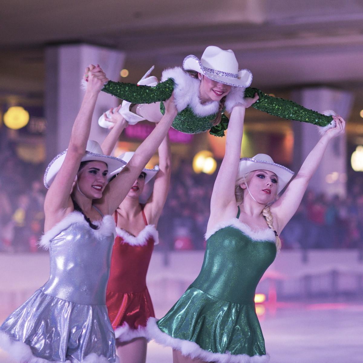Galleria Ice Spectacular Nov 2015 skaters