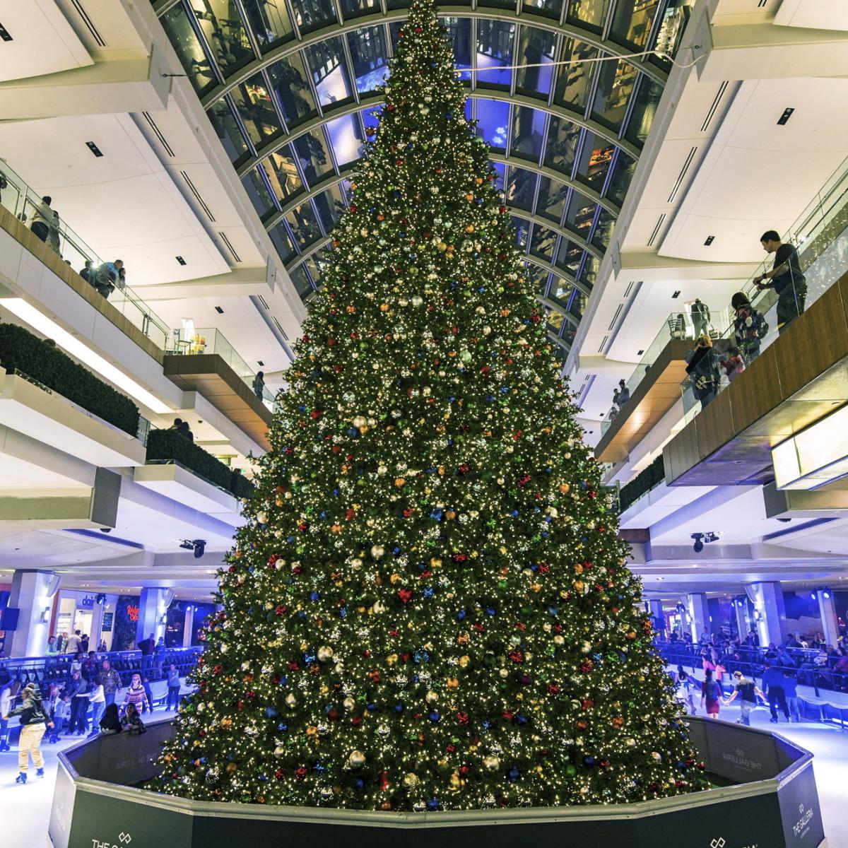 Galleria Tree Lighting Nov 2015