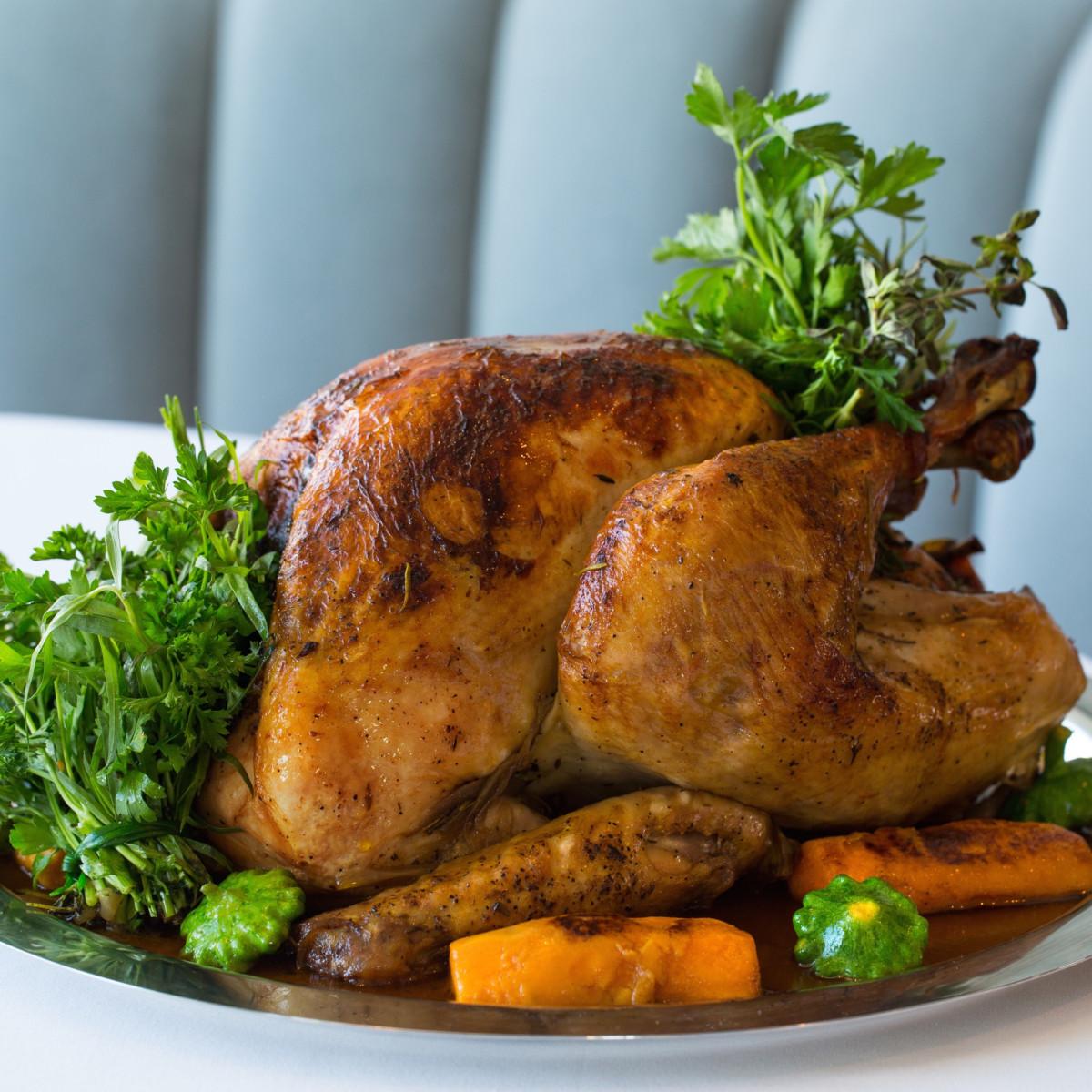 Table Thanksgiving turkey