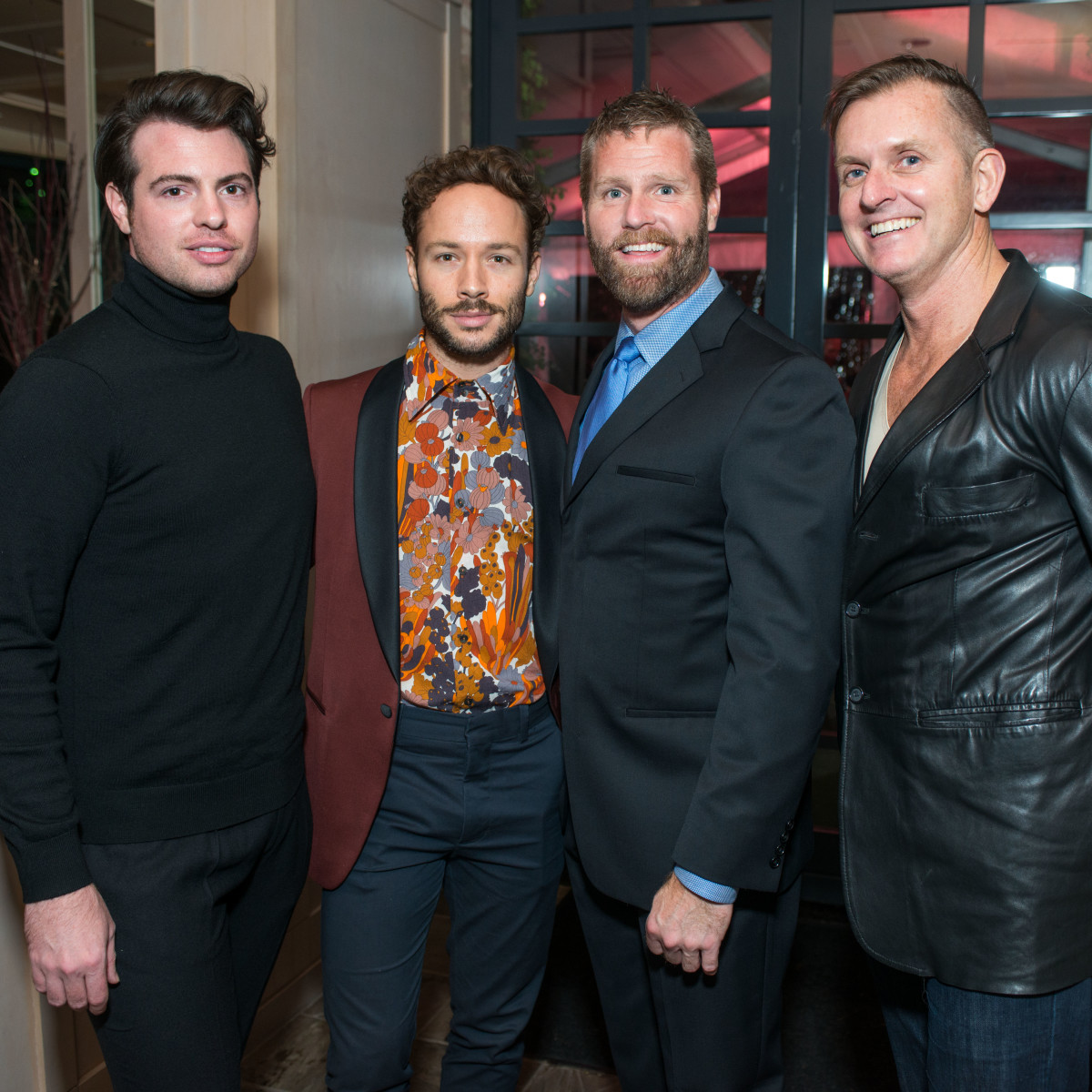 News, Shelby, Dolce & Gabbana dinner, Nov. 2015, Matt Johns, Oliver Halkowich Kevin black