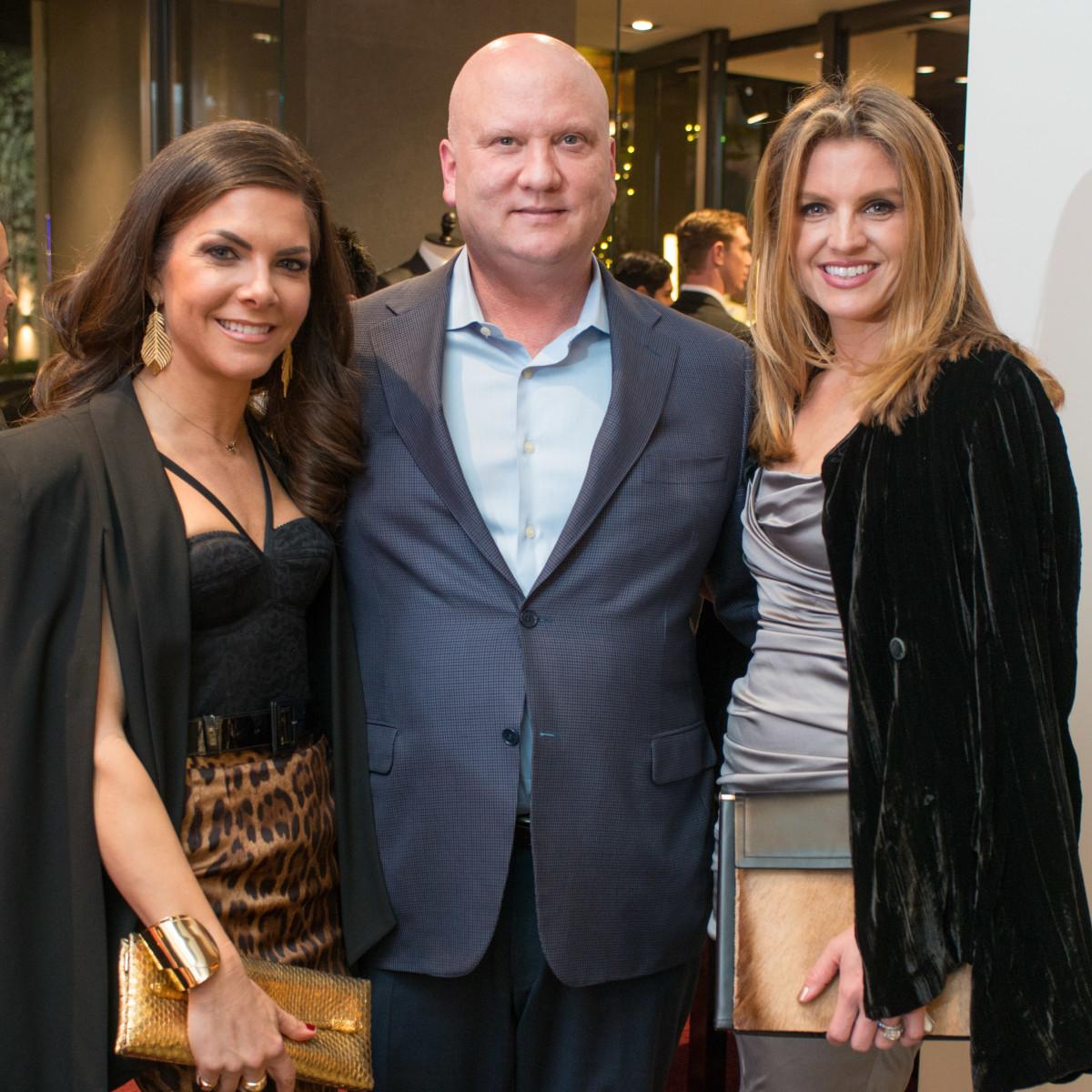 News, Shelby, Dolce & Gabbana dinner, Nov. 2015, Monica Blaisdell, John Blaisdell, Lindley Arnoldy