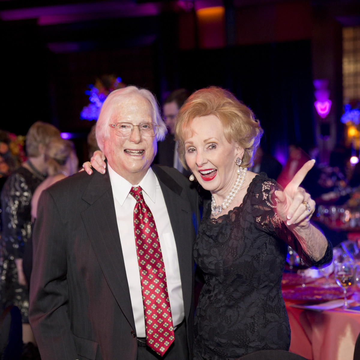 News, Shelby, Rendezvous with Houston Methodist, Nov. 2015, Steve Dunn, Eva Lynn Dunn